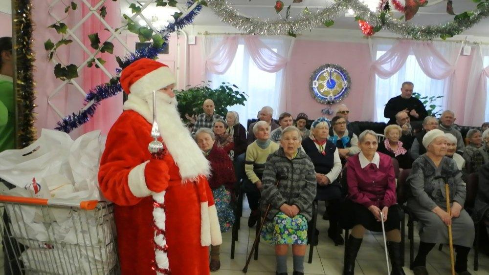 Поздравление для интерната для престарелых дом престарелых в городе архангельске